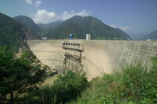 工程图片和dvd二滩公司dvd录象素材二滩水电站简介二滩水电站大坝